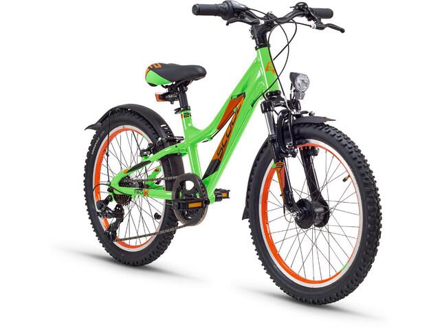 s'cool troX urban 20 7-S Børnecykel alloy grøn (2019) | City-cykler